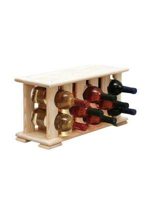 Stojan na víno na 8 lahví - VN