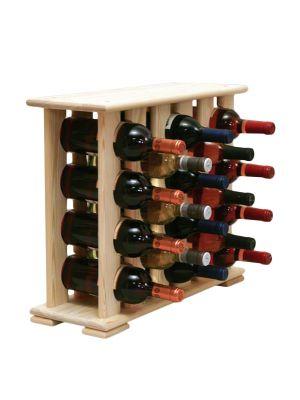 Stojan na víno na 18 lahví - VN