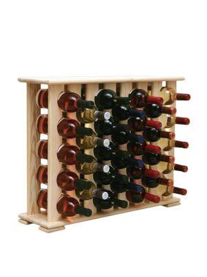 Stojan na víno na 32 lahví - VN