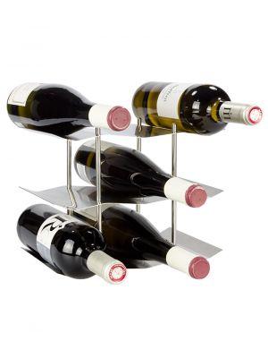 Stojan na víno na 9 lahví - STOP