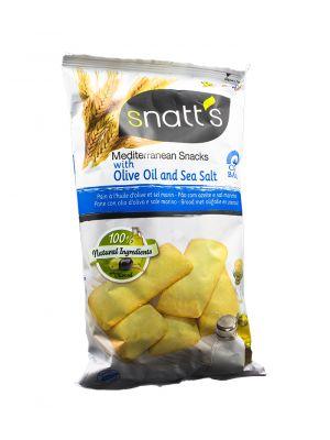 Chlebíčky s olivovým olejem a mořskou solí, Snatts, Grefusa, Španělsko