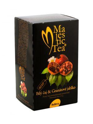 Majestic Tea, Bílý čaj a Granátové jablko, Biogena CB