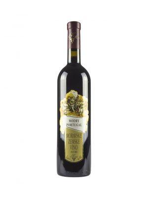 Vinařství, Krist Tomáš, Modrý Portugal, zemské víno, 0,75 l