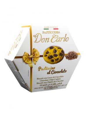 Sušenky s kousky čokolády DON CARLO, 100 g