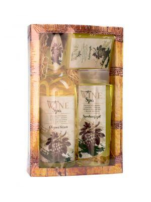 Dárkové balení Wine Spa - gel, lázeň, mýdlo