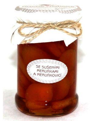 Medová chuťovka, se sušenými meruňkami a meruňkovicí, Antonín Škoda