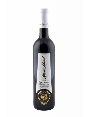 Vinařství Maňák, Cabernet Moravia, pozdní sběr, 2015, 0,75 l