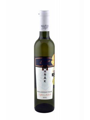 Vinařství Maňák, Rulandské šedé, výběr z bobulí, 2015, 0,5 l