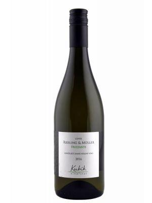 Vinařství Kubík, Riesling & Müller, Frizzante, 2016, 0,75 l