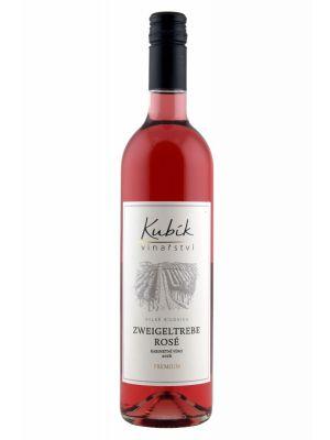 Zweigeltrebe rosé 2016, kabinetní, PREMIUM, Vinařství Kubík