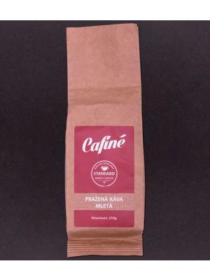 Mletá pražená káva Standard Cafiné 250g