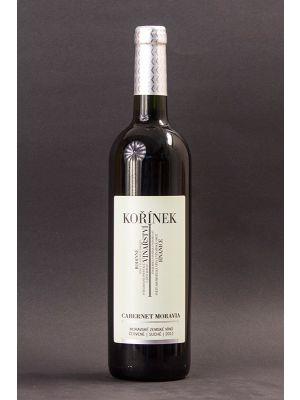 Cabernet Moravia 2011, zemské víno, Vinařství Kořínek