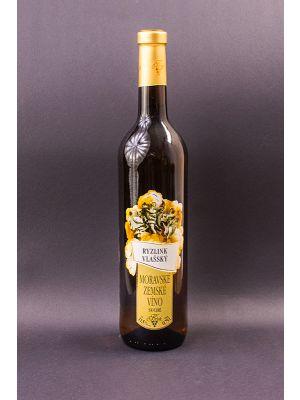 Ryzlink vlašský, zemské víno, Vinařství Krist Tomáš