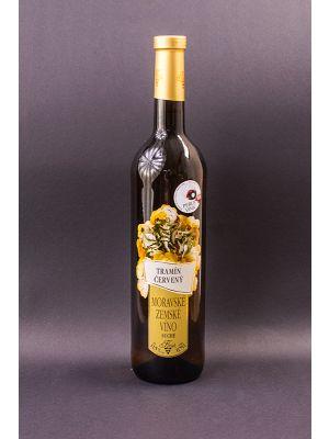 Tramín červený, zemské víno, Vinařství Krist Tomáš