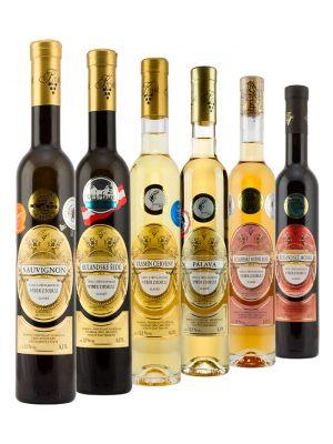 Degustační set přívlastkových vín výběr z bobulí, Vinařství Krist Tomáš