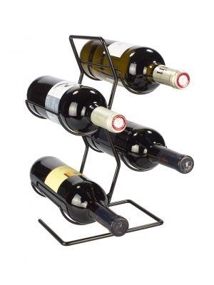 Stojan na víno na 4 lahve - STOV