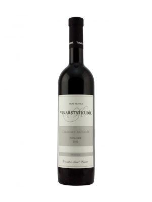 Cabernet Moravia 2012, pozdní sběr, Premium, Vinařství Kubík