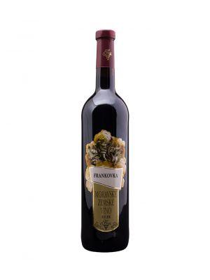 Vinařství Krist Tomáš, Frankovka, zemské víno, 0,75l
