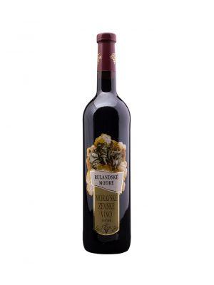 Vinařství Krist Tomáš, Rulandské modré, zemské víno, 0,75 l