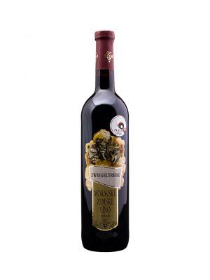 Zweigeltrebe, zemské víno, Vinařství Krist Tomáš
