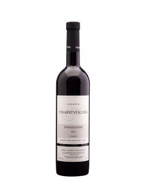 Zweigeltrebe 2012, classic, jakostní odrůdové, Vinařství Kubík