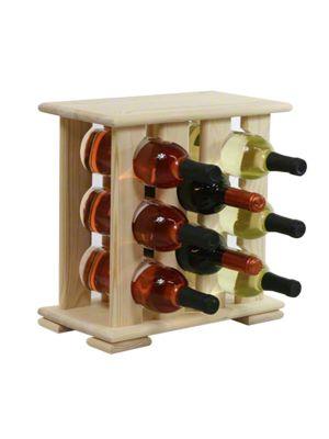 Stojan na víno na 8 lahví - VN Mahagon