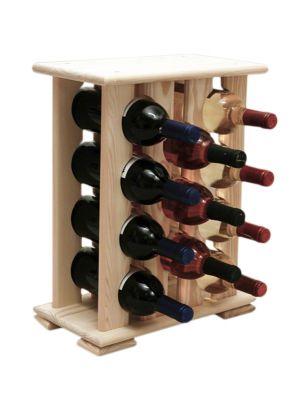 Stojan na víno na 11 lahví - VN Palisandr