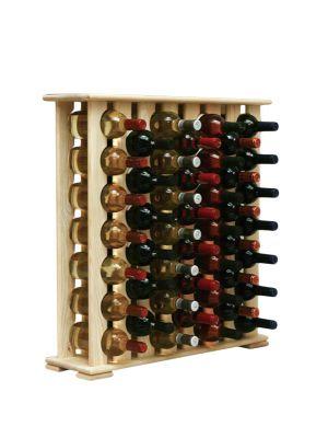 Stojan na víno na 46 lahví - VN Rustikal