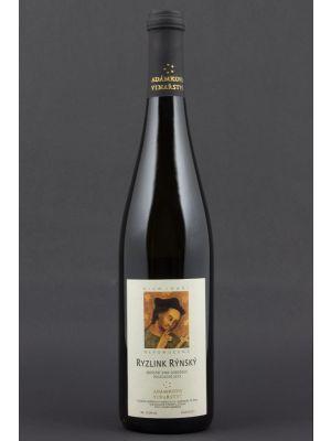 Ryzlink rýnský 2015, jakostní odrůdové, Adámkovo vinařství