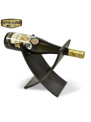 Stojan na víno na 1 láhev - Lazur palisandr