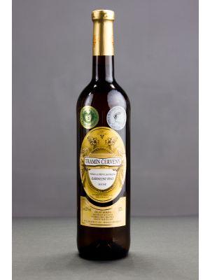 Tramín červený 2014, kabinetní víno, Vinařství Krist Tomáš