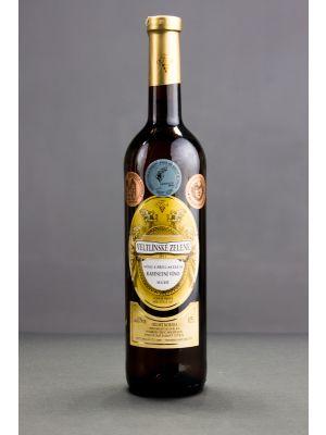 Veltlínské zelené 2013, kabinetní víno, Vinařství Krist Tomáš