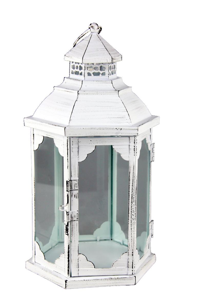 Kovová lucerna - LT0098w