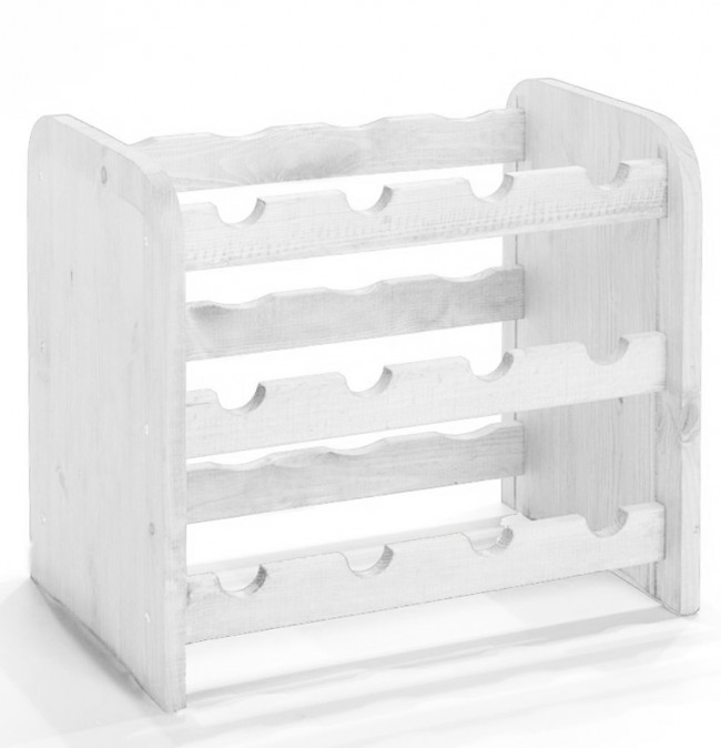 Bortartó, 12 üvegre - RV3 - Fehér